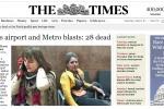 Attentati a Bruxelles: i titoli della stampa estera - Foto