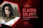 Claudia Galanti, la prima eliminata da