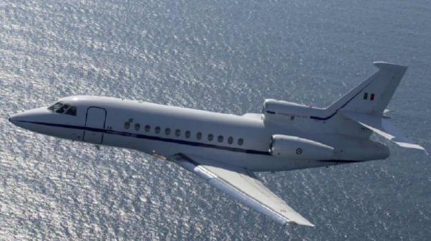 aeronautica militare, falcon 900, Trapianto organi, Catania, Cronaca