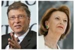 I paperoni del mondo: Bill Gates ancora in testa, Lady Ferrero la più ricca in Italia