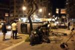 Scontro auto-ambulanza a Palermo: le immagini da via Notarbartolo - Foto