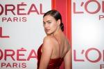Party in rosso per Irina Shayk: tutte le foto