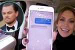 Jennifer Lopez flirta con Leonardo DiCaprio via sms... ma è solo uno scherzo: il video