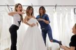 Melissa Satta prova il suo abito da sposa: emozione indescrivibile