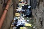 Palermo, un vicolo invaso dai rifiuti nella zona di corso Vittorio: un'impresa passare