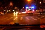Scontro auto-ambulanza a Palermo, nel video l'incidente in diretta