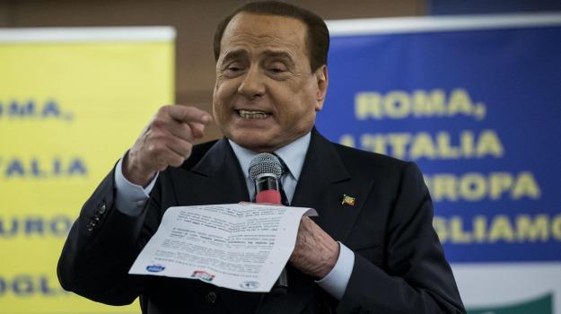 Giorgia Meloni, Guido Bertolaso, Matteo Salvini, Silvio Berlusconi, Sicilia, Politica