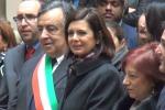 """Migranti, Boldrini a Palermo: 300-400 mila ingressi per potere """"salvare"""" l'Italia"""