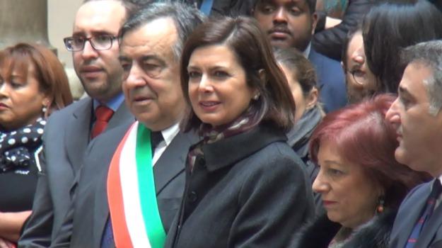 consulta delle cultura palermo, immigrazione, migranti, Laura Boldrini, Sicilia, Politica