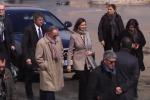 La Boldrini a Palermo, l'arrivo della presidente allo Zen - Video