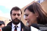 """La Boldrini allo Zen: """"E' un quartiere difficile, ma che cerca anche di alzare la testa"""" - Video"""