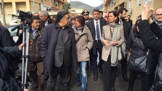 visita, Zen, Laura Boldrini, Palermo, Cronaca