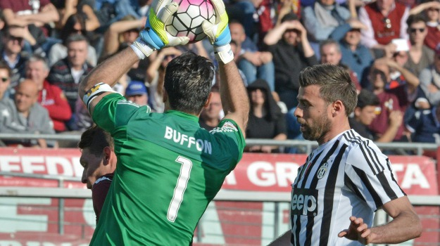 Calcio, Juventus, record, SERIE A, Gianluigi Buffon, Sicilia, Sport