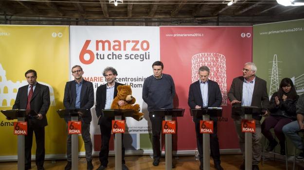 candidato sindaco, primarie, roma, Sicilia, Politica