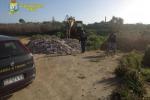 Sequestrata una discarica di 2000 metri quadrati a Ispica