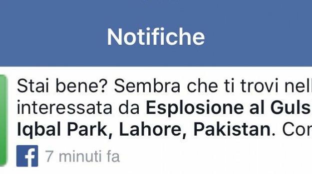 facebook attentato lahore, Sicilia, Mondo