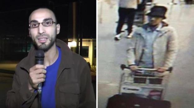 attentati, bruxelles, TERRORISTA, uomo con il cappello, Sicilia, L'Isis, lo scettro del Califfo