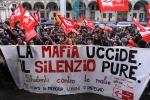 Manifestazione in ricordo delle vittime di mafia, in 350mila nelle piazze