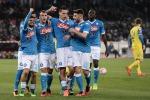 Il Napoli torna alla vittoria col Chievo Riparte il sogno scudetto