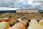 Panorama sui tetti di Sambuca di Sicilia