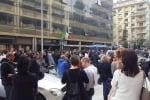 Esuberi Almaviva, si infiamma la protesta a Palermo: strade bloccate e traffico in tilt