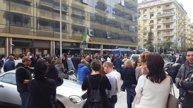 almaviva, call center, sciopero, vertenza, Palermo, Economia