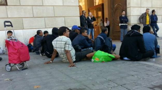 centro prima accoglienza, migranti, Palermo, protesta, Sicilia, Cronaca