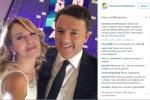 """Domenica Live, selfie per Renzi e la D'Urso che si danno anche del """"tu"""""""