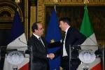 """Hollande a Renzi: """"In Libia bisogna agire. La minaccia Isis incombe"""""""