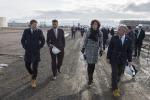 """Enel, Renzi in Nevada: """"In Italia centrale rinnovabile più innovativa"""""""