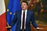 """Renzi all'indomani dell'attentato: """"In Italia prese misure di sicurezza. Non c'è minaccia specifica"""""""