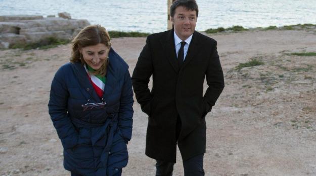 Lampedusa, premier, Giusi Nicolini, Matteo Renzi, Sicilia, La politica di Renzi