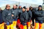 Gela, nuova protesta dei lavoratori della Tekra - Video
