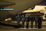 Arrivati nella notte all'aeroporto di Ciampino i due tecnici italiani uccisi in Libia - Foto