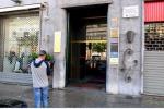 Il luogo in cui avvenne la rapina, in via Cavour a Palermo