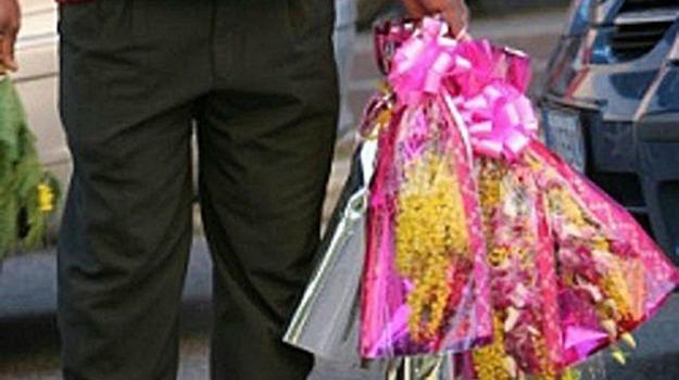 Festa della Donna, vendita abusiva fiori, Sicilia, Economia