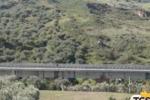 Carreggiata del viadotto Himera, Renzi in Sicilia