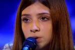 Beatrice, 13enne incanta i giudici di Italia's Got Talent: il video dell'esibizione