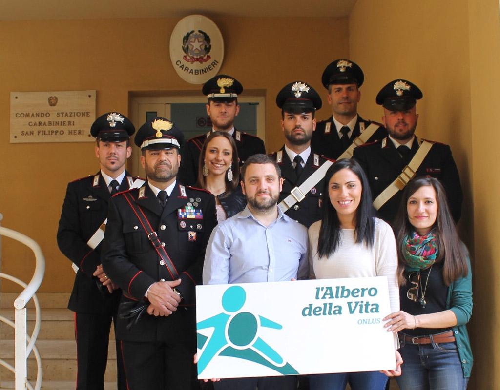 Carabinieri e volontari insieme per gli studenti dello zen for Arrediamo insieme palermo