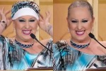 Lotta contro il cancro, giudice di Ballando con le stelle si toglie il turbante in diretta tv - Video