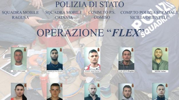 banda di rumeni, furti ragusa, Ragusa, Cronaca