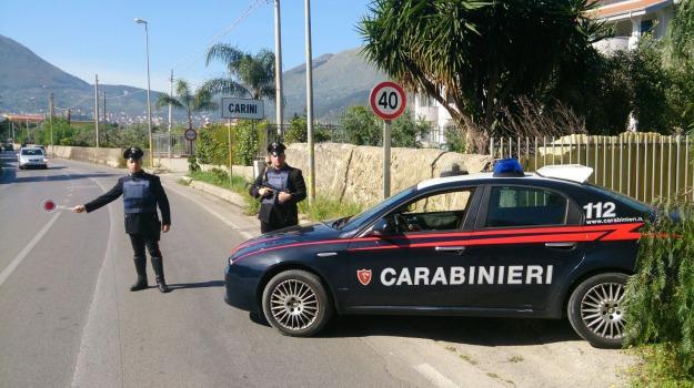 carabinieri, carini, furto, riciclaggio, Palermo, Cronaca