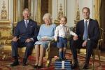 Foto con gli eredi per i 90 anni della Regina Elisabetta: c'è anche il piccolo George