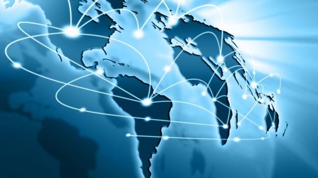 collegamento, internet, Sicilia, Società