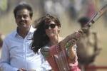 Kate gioca a cricket sotto il sole dell'India: le foto