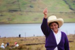 Contadina peruviana si aggiudica il Nobel per l'Ambiente