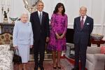 Obama a Londra, il presidente e la regina a pranzo insieme: le foto