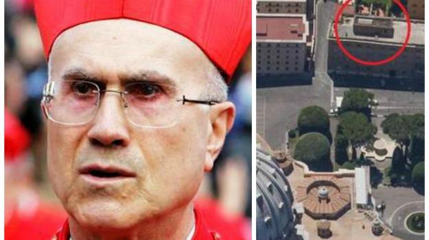 attico, cardinale, indagine, ristrutturazione, Sicilia, Cronaca