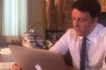 "Renzi: ""C'è rischio referendum su di me. Se perdo vado a casa"""