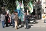 Cassintegrati in attesa dei pagamenti: il video della protesta a Palermo